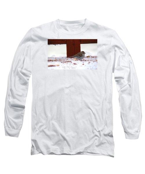 Long Sleeve T-Shirt featuring the photograph Little Bird by Rebecca Davis
