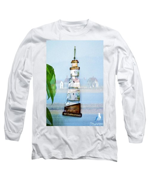 Living By The Sea - Pacific Ocean Long Sleeve T-Shirt