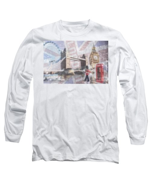 London Blue Long Sleeve T-Shirt