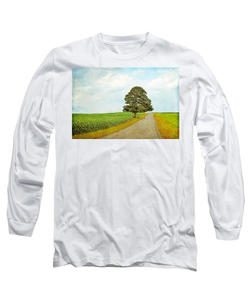 Long Sleeve T-Shirt featuring the photograph Lone Tree by Brooke T Ryan