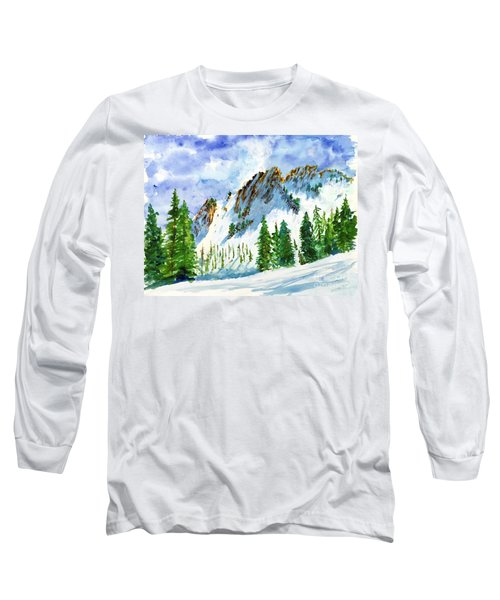 Lone Tree In The Afternoon Long Sleeve T-Shirt