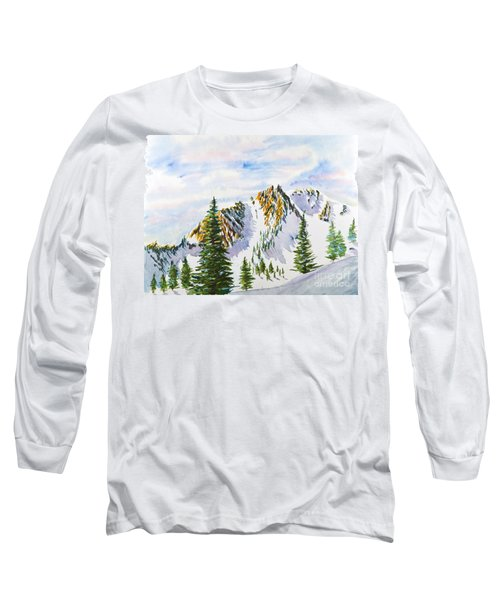 Lone Tree In The Morning Long Sleeve T-Shirt