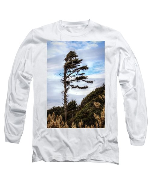 Long Sleeve T-Shirt featuring the photograph Lone Tree by Melanie Lankford Photography