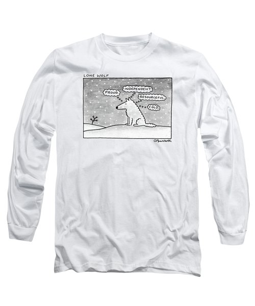 Lone Wolf: Long Sleeve T-Shirt