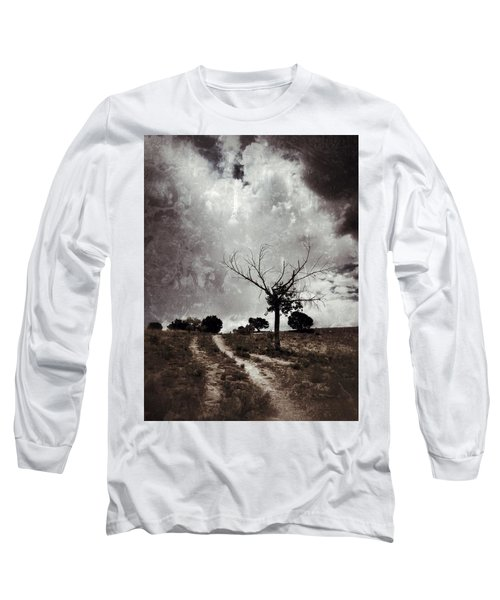 Lonely Tree Long Sleeve T-Shirt by Mark David Gerson