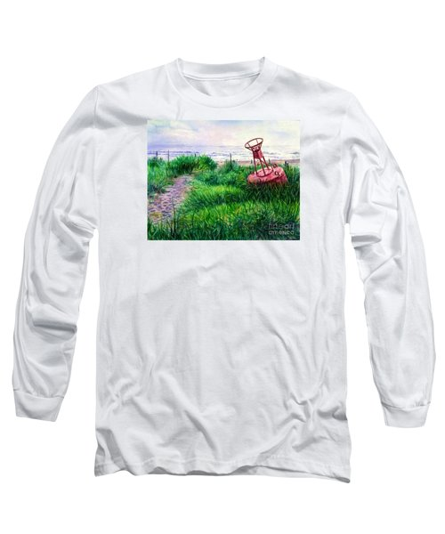 Long Beached Buoy Long Sleeve T-Shirt