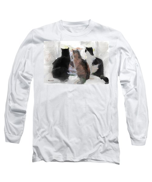 Longing Long Sleeve T-Shirt by Greg Collins