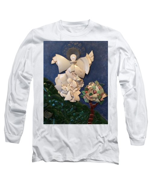 Look Unto The Hills Long Sleeve T-Shirt