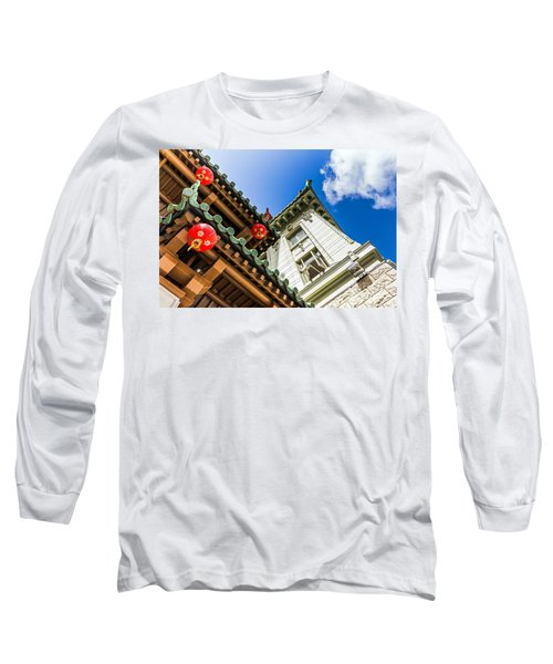 Long Sleeve T-Shirt featuring the photograph Looking Up by Kate Brown