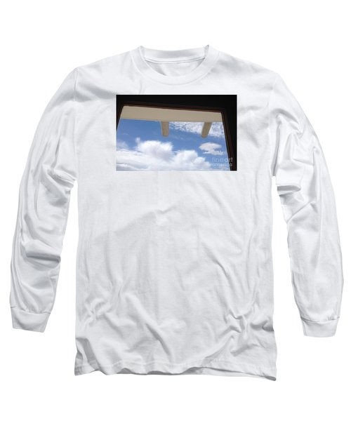 Long Sleeve T-Shirt featuring the photograph Lookout by Nora Boghossian