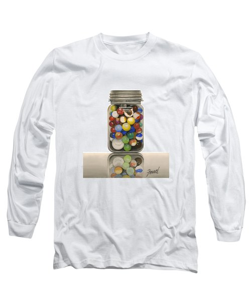 Long Sleeve T-Shirt featuring the painting Lost And Found by Ferrel Cordle