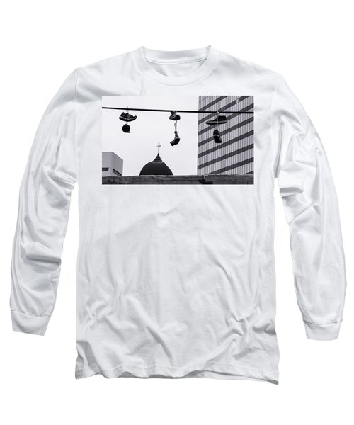 Lost Soles - Urban Metaphors Long Sleeve T-Shirt by Steven Milner