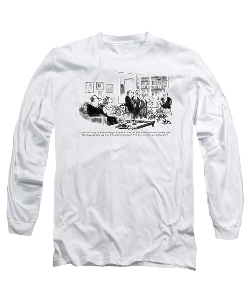 Louise And Greg Are From Pittsburgh Long Sleeve T-Shirt