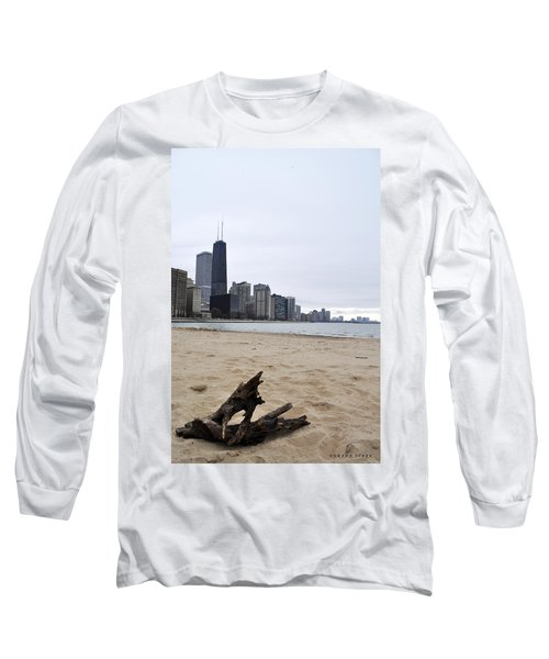 Love Chicago Long Sleeve T-Shirt by Verana Stark