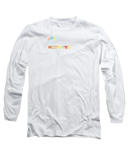 Long Sleeve T-Shirt featuring the digital art Love Is? by Aaron Martens