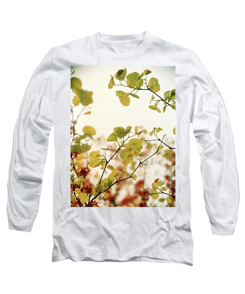 Long Sleeve T-Shirt featuring the photograph Love Leaf by Rebecca Harman