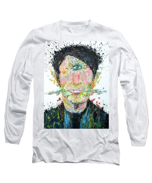 Love Me Do Long Sleeve T-Shirt by Fabrizio Cassetta
