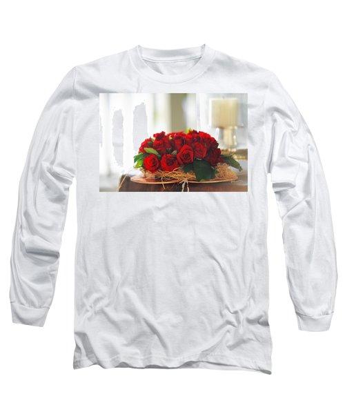 Love Message Long Sleeve T-Shirt by Jenny Rainbow