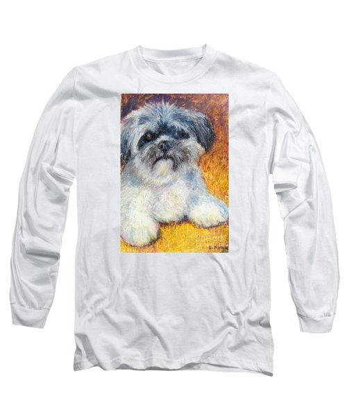 Love My Lhasa Long Sleeve T-Shirt by Laurie Morgan