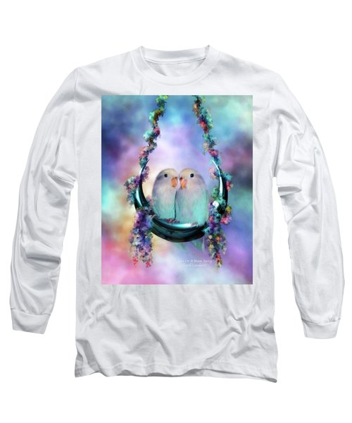 Love On A Moon Swing Long Sleeve T-Shirt