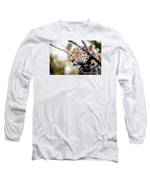 Long Sleeve T-Shirt featuring the photograph Love Panther Iv by Stwayne Keubrick