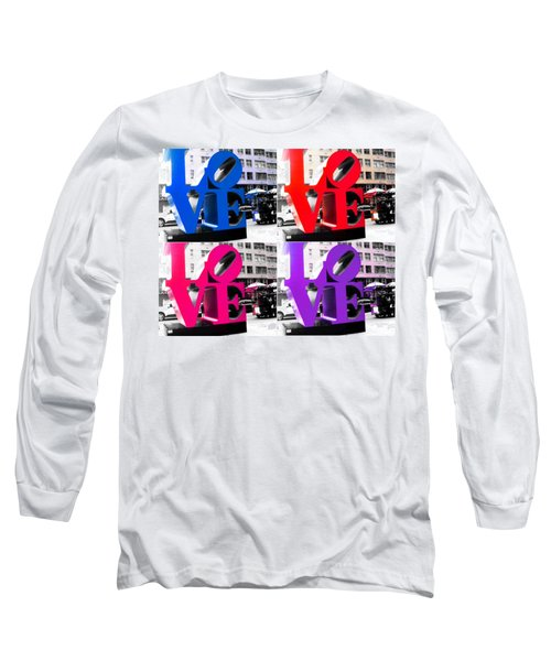 Love Pop Long Sleeve T-Shirt by J Anthony