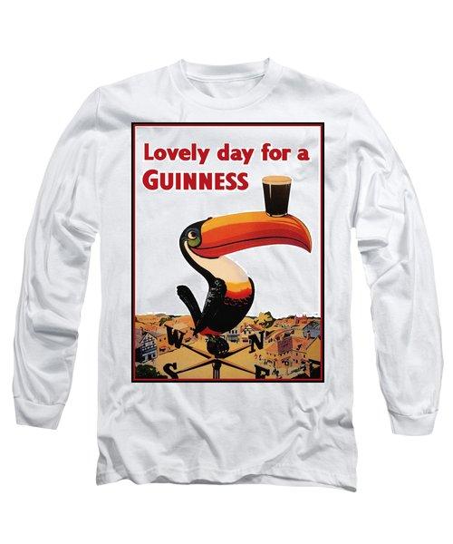Lovely Day For A Guinness Long Sleeve T-Shirt