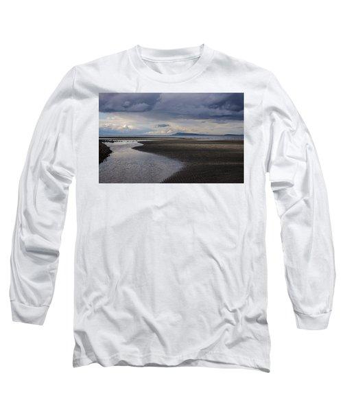 Tidal Design Long Sleeve T-Shirt by Roxy Hurtubise