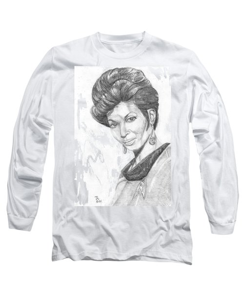 Lt. Uhura Long Sleeve T-Shirt by Thomas J Herring