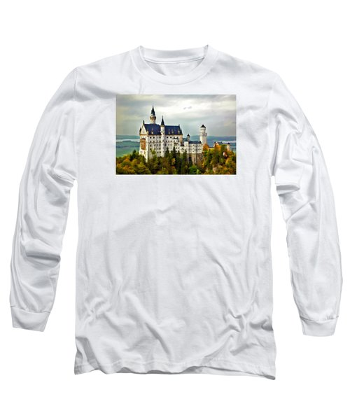 Neuschwanstein Castle In Bavaria Germany Long Sleeve T-Shirt