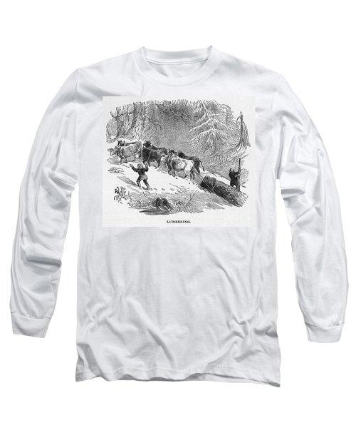 Lumbering - 1878 Long Sleeve T-Shirt