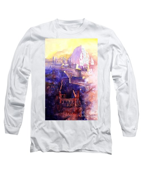 Machu Pichu- Peru Long Sleeve T-Shirt