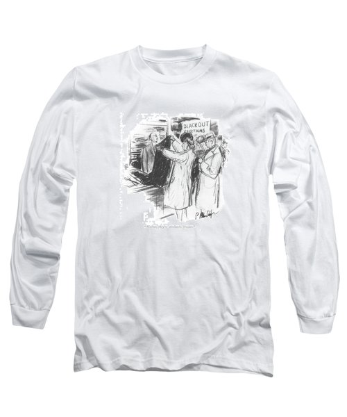 Madam, They're Absolutely Stygian Long Sleeve T-Shirt