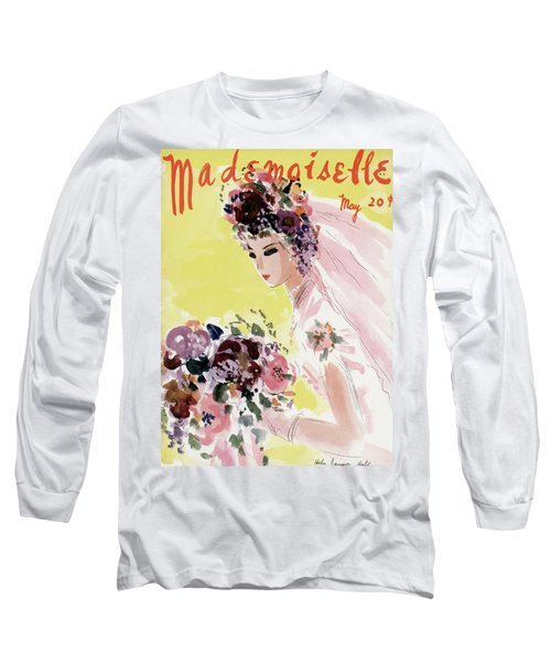 Mademoiselle Cover Featuring A Bride Long Sleeve T-Shirt