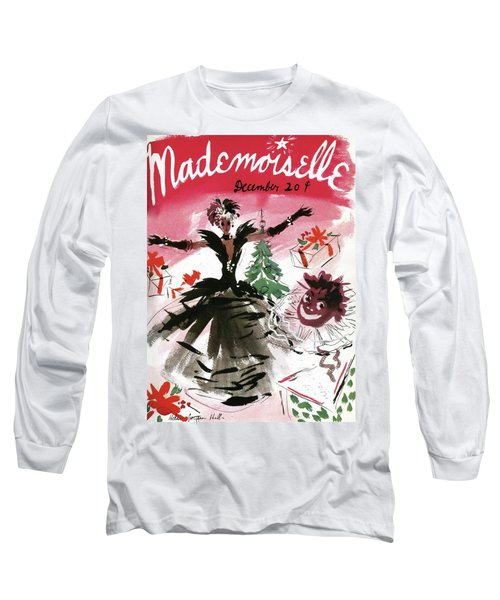 Mademoiselle Cover Featuring A Doll Surrounded Long Sleeve T-Shirt