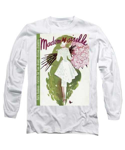 Mademoiselle Cover Featuring A Woman Carrying Long Sleeve T-Shirt