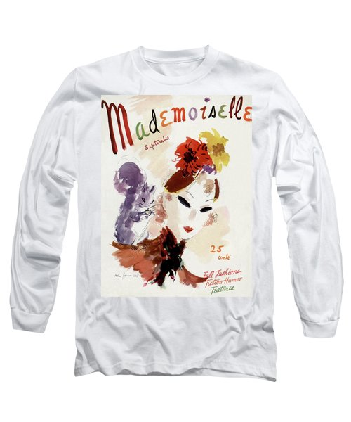 Mademoiselle Cover Featuring A Woman Long Sleeve T-Shirt
