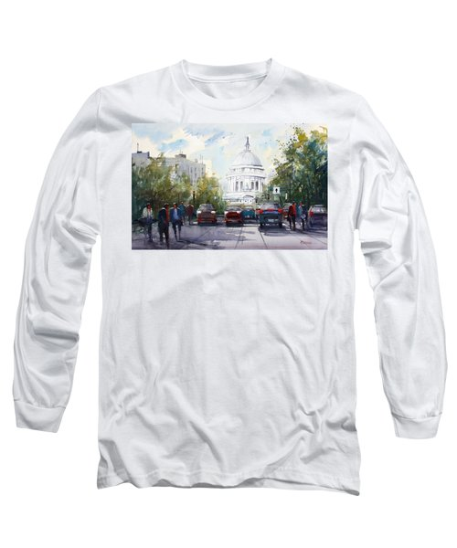 Madison - Capitol Long Sleeve T-Shirt by Ryan Radke