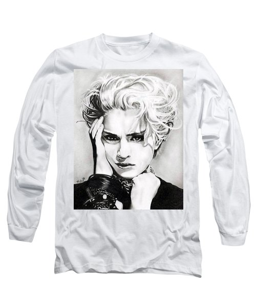 Madonna Long Sleeve T-Shirt by Fred Larucci