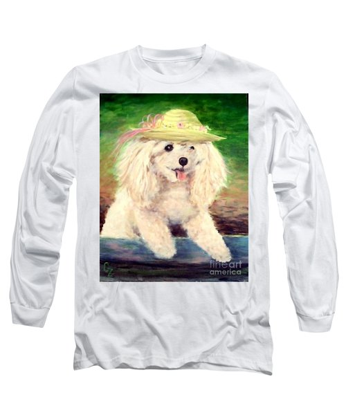 Maggie   Straw Hat Long Sleeve T-Shirt