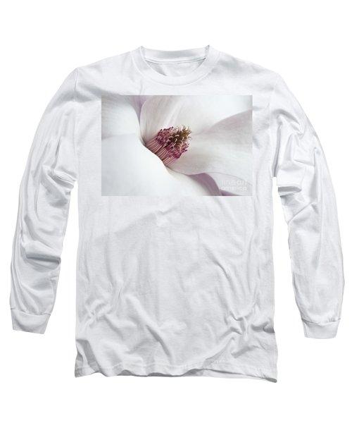 Magnolia Flower Long Sleeve T-Shirt