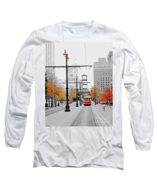Main Street Trolley  Long Sleeve T-Shirt