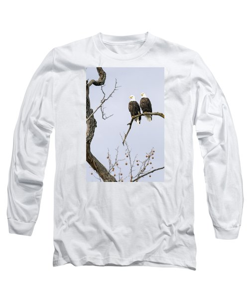 Majestic Beauty 1 Long Sleeve T-Shirt by David Lester