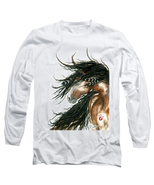 Majestic Pinto Horse 80 Long Sleeve T-Shirt