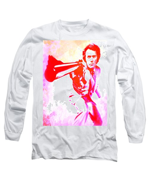 Long Sleeve T-Shirt featuring the painting Make My Day by Brian Reaves