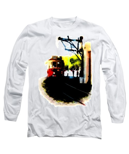 Make Way For The Tram  Long Sleeve T-Shirt