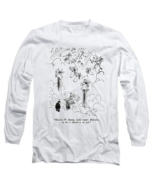 Malcolm W. Dunlap Long Sleeve T-Shirt
