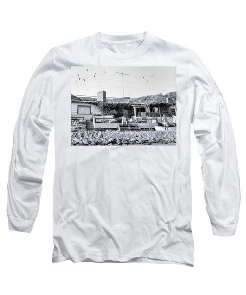 Malibu Beach House - 1960 Long Sleeve T-Shirt