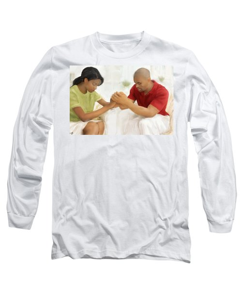 Man And Wife Pray Long Sleeve T-Shirt