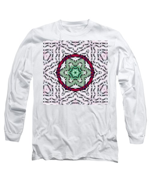 Long Sleeve T-Shirt featuring the photograph Mandala 7 by Terry Reynoldson